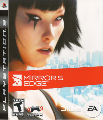 Mirror's Edge PS3 coverM (BLUS30179)