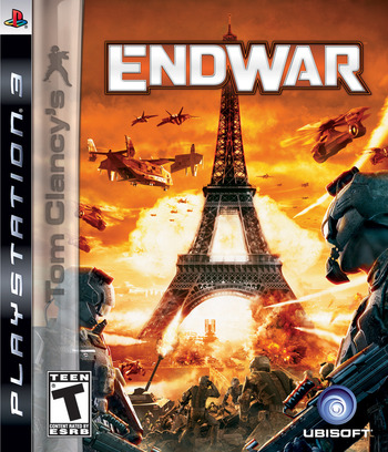 Tom Clancy's EndWar PS3 coverM (BLUS30180)