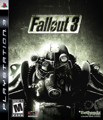 Fallout 3 PS3 coverM (BLUS30185)