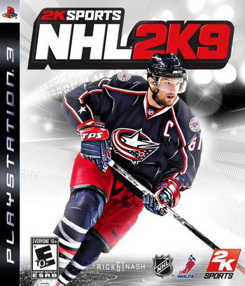 NHL 2K9 PS3 coverM (BLUS30188)