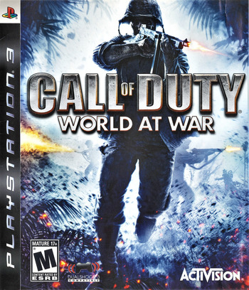 Call of Duty: World at War PS3 coverM (BLUS30192)