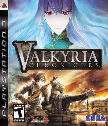 Valkyria Chronicles PS3 coverM (BLUS30196)