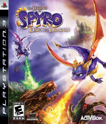 The Legend of Spyro: Dawn of the Dragon PS3 coverM (BLUS30205)