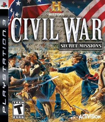 History Channel's Civil War: Secret Missions PS3 coverM (BLUS30211)