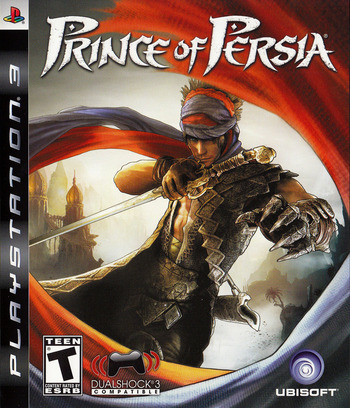Prince of Persia PS3 coverM (BLUS30214)