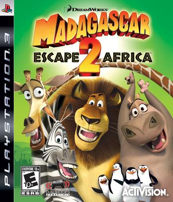 Madagascar: Escape 2 Africa PS3 coverM (BLUS30219)