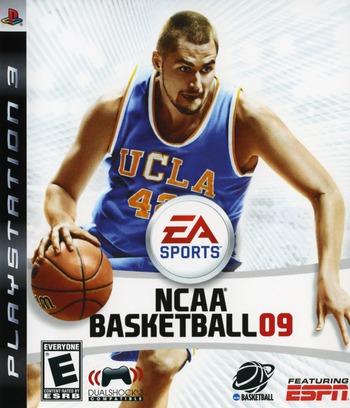 NCAA Basketball '09 Array coverM (BLUS30231)