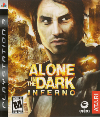Alone in the Dark: Inferno PS3 coverM (BLUS30232)