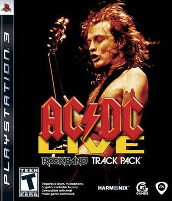 Rock Band: Track Pack - AC/DC Live PS3 coverM (BLUS30235)