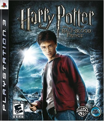 Harry Potter and the Half-Blood Prince PS3 coverM (BLUS30242)