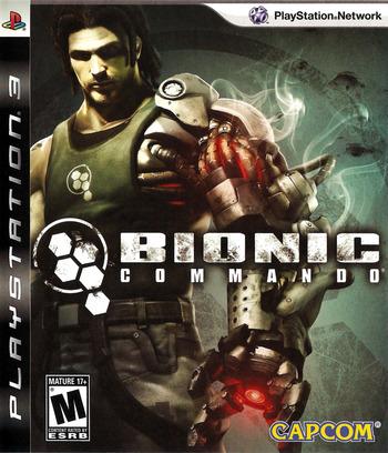 Bionic Commando PS3 coverM (BLUS30255)