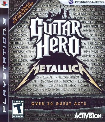 Guitar Hero: Metallica PS3 coverM (BLUS30257)