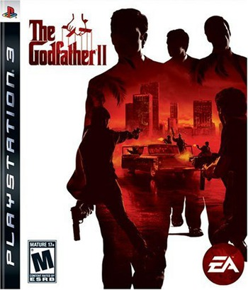 The Godfather II PS3 coverM (BLUS30261)