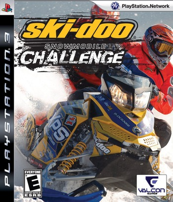 Ski Doo: Snowmobile Challenge PS3 coverM (BLUS30272)