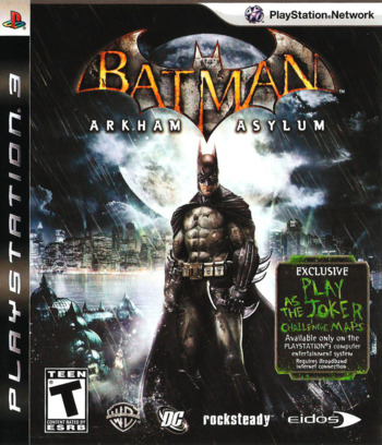 Batman: Arkham Asylum PS3 coverM (BLUS30279)