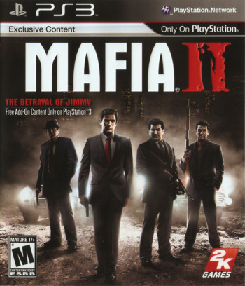 Mafia II PS3 coverM (BLUS30281)