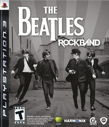 The Beatles: Rock Band PS3 coverM (BLUS30282)
