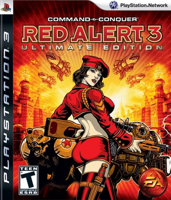 Command & Conquer: Red Alert 3 (Ultimate Edition) PS3 coverM (BLUS30283)