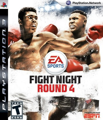 Fight Night: Round 4 PS3 coverM (BLUS30285)
