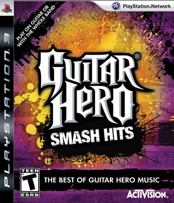 Guitar Hero: Smash Hits PS3 coverM (BLUS30290)