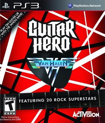 Guitar Hero: Van Halen PS3 coverM (BLUS30291)