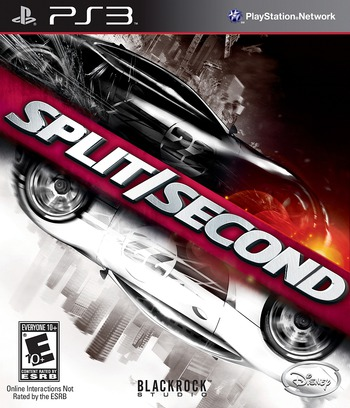 Split / Second PS3 coverM (BLUS30300)