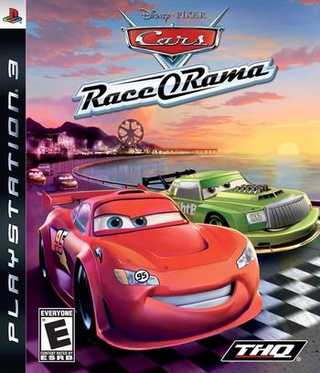 Cars: Race-O-Rama PS3 coverM (BLUS30319)