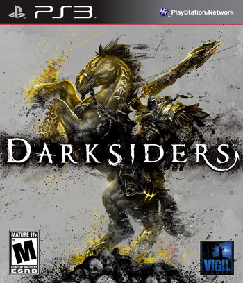Darksiders PS3 coverM (BLUS30320)