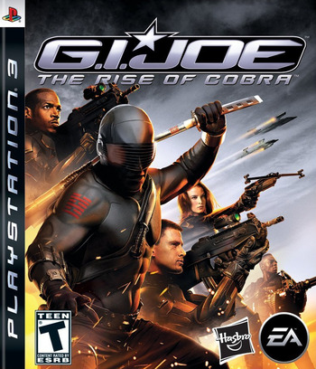 G.I. Joe: The Rise of Cobra PS3 coverM (BLUS30326)