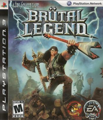 Brutal Legend PS3 coverM (BLUS30330)