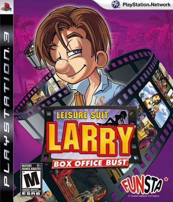 Leisure Suit Larry: Box Office Bust PS3 coverM (BLUS30331)