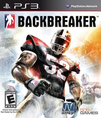 Backbreaker PS3 coverM (BLUS30334)