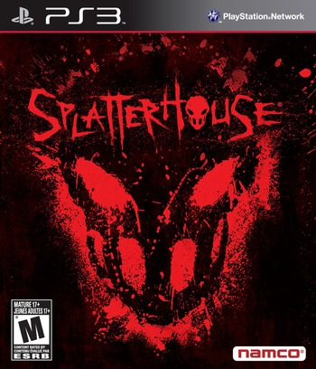 Splater House PS3 coverM (BLUS30335)
