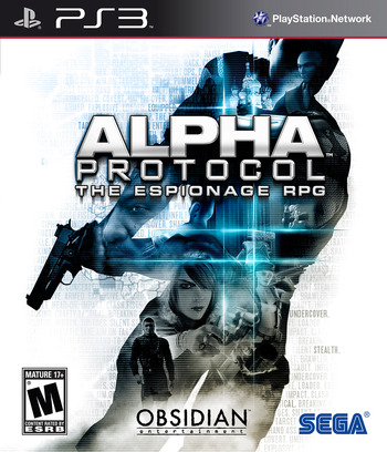 Alpha Protocol PS3 coverM (BLUS30341)