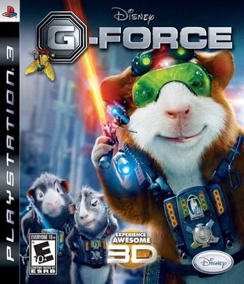 G-Force: The Video Game PS3 coverM (BLUS30354)