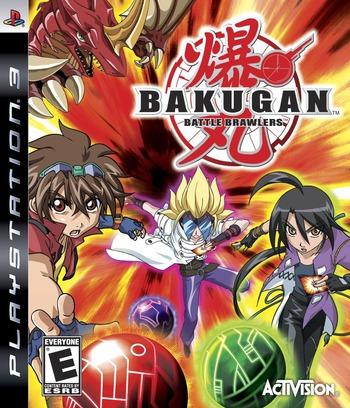 Bakugan Battle Brawlers PS3 coverM (BLUS30356)