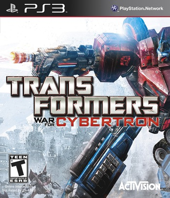Transformers: War for Cybertron PS3 coverM (BLUS30357)