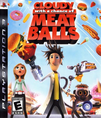 Cloudy with a Chance of Meatballs PS3 coverM (BLUS30363)