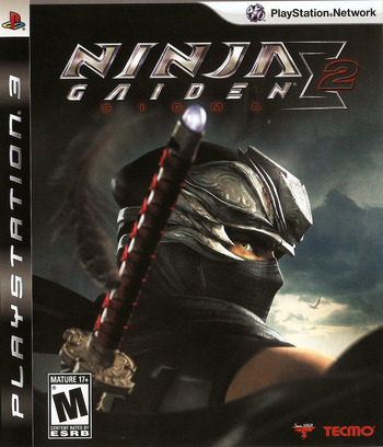 Ninja Gaiden: Sigma 2 PS3 coverM (BLUS30380)