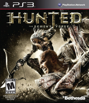 Hunted: The Demon's Forge PS3 coverM (BLUS30406)