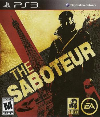 Saboteur PS3 coverM (BLUS30407)
