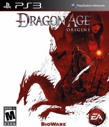 Dragon Age: Origins PS3 coverM (BLUS30415)