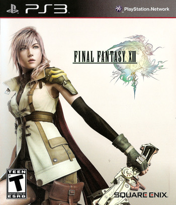Final Fantasy XIII PS3 coverM (BLUS30416)