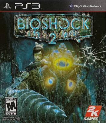 BioShock 2 PS3 coverM (BLUS30420)