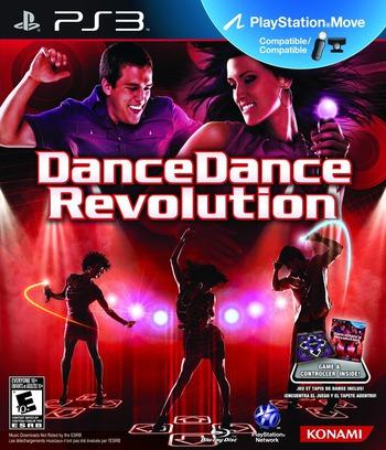 Dance Dance Revolution: New Moves PS3 coverM (BLUS30433)