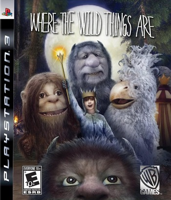 Where the Wild Things Are PS3 coverM (BLUS30441)
