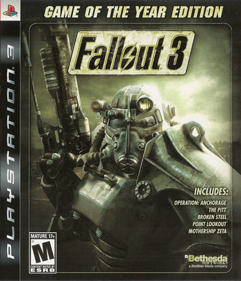 Fallout 3 Game of the Year Edition PS3 coverM (BLUS30451)