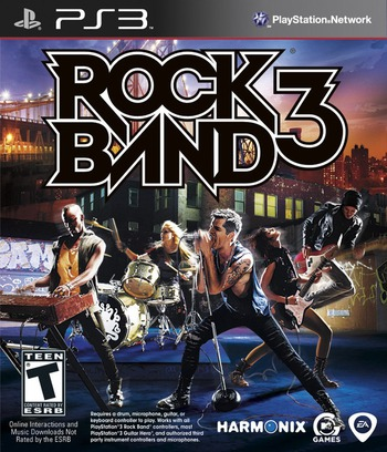 Rock Band 3 PS3 coverM (BLUS30463)