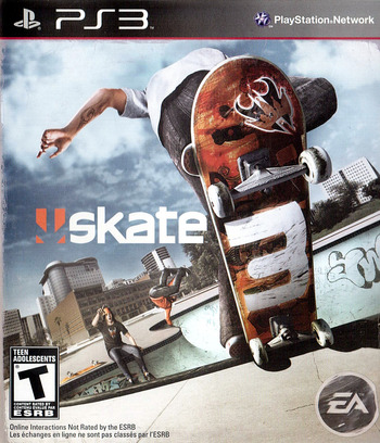 Skate 3 PS3 coverM (BLUS30464)
