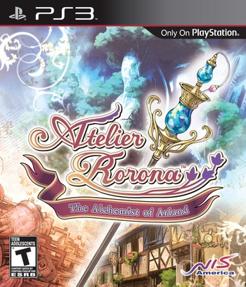 Atelier Rorona: The Alchemist of Arland PS3 coverM (BLUS30465)